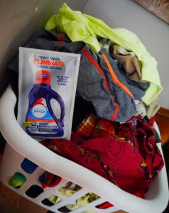 fresh smelling laundry febreze in wash odor eliminator